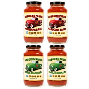 Hoboken Farms Marinara & Basil Marinara 4 Pack