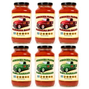 Hoboken Farms Marinara & Basil Marinara 6 Pack