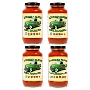 Hoboken Farms Basil Marinara Sauce 4 Pack