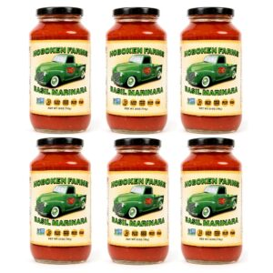 Hoboken Farms Basil Marinara Sauce 6 Pack